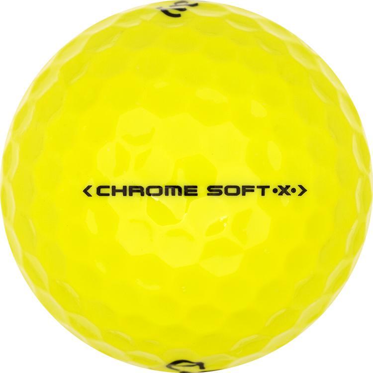 Callaway Chrome Soft X Gelb