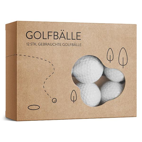 Golfbälle Dutzend-Box