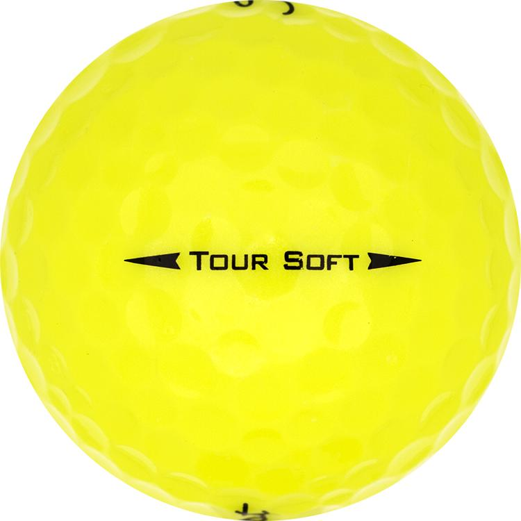 Titleist Tour Soft Gelb