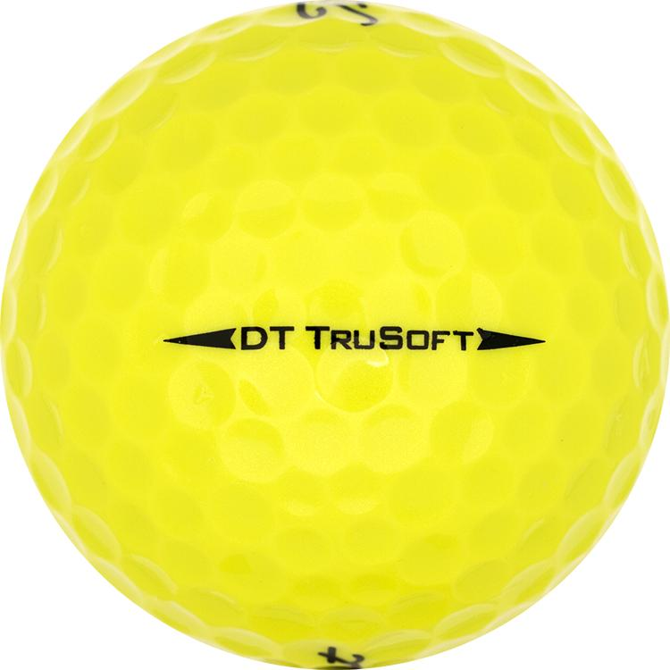 Titleist DT TruSoft Gelb